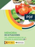 MEMORIA OBSERVATORIO CADENA ALIMENTARIA 1-10