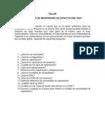 TALLER DIAGNOSTICO DE NECESIDADES DE CAPACITACION(1)