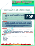 7_TEO. 4_ ROTE. MED 1_SEMIO. 27 SEP 2017. SEMIOLOGIA DE LOS REFLEJOS
