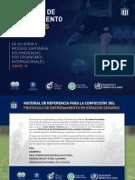 PROPUESTA de Protocolo Entrenamiento Futbol Profesional