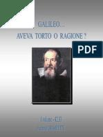 4233 - Galileo Aveva Torto o Ragione Vol I