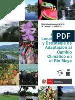 Evaluación Local Integrada y Estrategia de Adaptación al CC en el Río Mayo