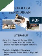 1. Pengantar psikologi pendidikan