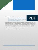 Informe Sistema Financiero Venezolano Marzo 2020