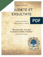 EXHORTACIÒN-APOSTOLIC