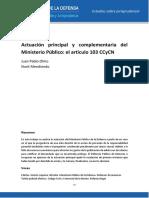 2016.3. Actuación principal y complementaria del Ministerio Público el artículo 103 CCyCN.pdf