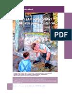 Gil, Alicia  El Plan CAIF como politica publica de primera infancia