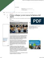 2012 Desgrabar en IRPF