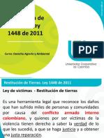 Diapositivas - Restitucion de tierras