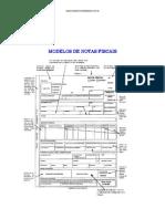 Modelos de Notas Fiscais