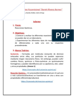 Informe Quimica 2K