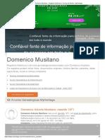 Domenico Musitano - Registros históricos e árvores de família - MyHeritage