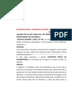 EXCEPCIÓN PREVIA DE INCOMPETENCIA.pdf