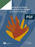 Comisión Andina de Juristas - Implementación del Derecho a la Participación Política Indígena en Cusco y San Martín-Konrad Adenauer Stiftung (2013)