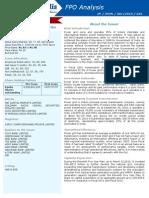 Power Grid FPO Analysis