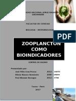 Zooplancton como bioindicadores