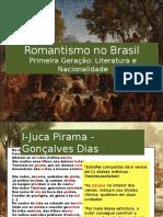 AULA 1- Literatura (1ª GERAÇÃO ROMÂNTICA NO BRASIL)