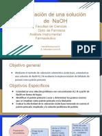Estandarización de NaOH