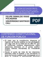 IMPLEMENTACION  DEL SISTEMA DE FUNCION PUBLICA