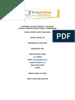 ANTROPOLOGIA PSICOLOGICA APORTE COMPAÑERO