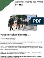 Aula Período Colonial (Parte 1)