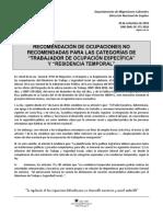 Recomendación de Ocupaciones No Recomendadas de Trabajo DGME 2018.pdf