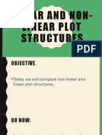 Linear and Non-Linear plot structures