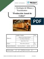 Produccion Minera de Cobre Peru A-3