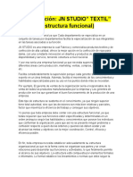 Estructura organizacional JN STUDIO(FUNCIONAL)