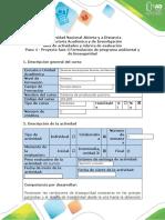 - Paso 4 - Proyecto fase 3 Formulación de programa ambiental y de bioseguridad