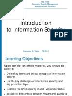 Computer Security Management Class Work