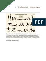Warrior Sequence – Surya Namaskar C – Ashtanga Vinyasa Yoga