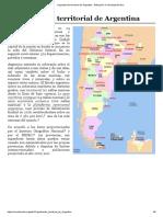 Organización territorial de Argentina - Wikipedia, la enciclopedia libre