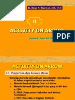 3 Activity and Arrow