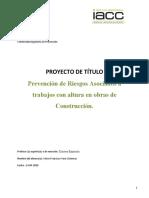 Victor Vera Cisternas _ Tarea Semana 7 Proyecto de titulo