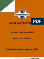 Mt-97 Parts Catalog Complete