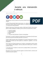 Derechos durante una intervención policial a un vehículo.pdf