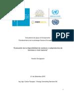 Evaluación de la disponibilidad de residuos o subproductos en Uruguay