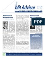 UHY Not-for-Profit Newsletter - February 2008