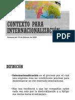 02. Definición de Internacionalización