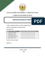 EVALUACIÓN DIAGNOSTICA - CIERRE DE MINAS