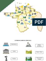 MAPA DE VENEZUELA Y CARACTERISTICAS GEOGRAFICAS