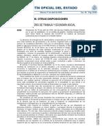 BOE-A-2020-4506 Excepción Covid19 Vuelta a las aulas