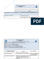TABLAS DE PLANIFICACION PRIMERO