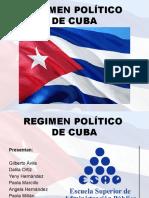 REGIMEN POLÍTICO CUBANO