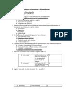 Cuestionario de inmunología y el sistema inmune