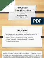 unidas 2 seccion 4 Proyecto socieducativo