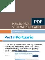 Publicidad del sistema portuario