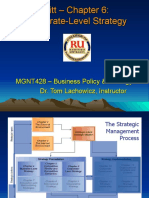 MGNT428 Ch06 Corporate Strategy - Lachowicz