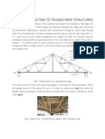 design of trussed roof buildings